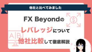 fxbeyondのレバレッジについて解説